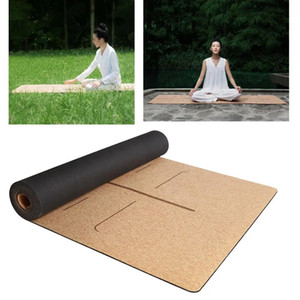 Original Xiaomi Youpin YUNMAI 4mm Natural Rubber Cork Yoga Mats Non-slip Exercise Sports Pilates Yoga Mat CYX-C7 3010035