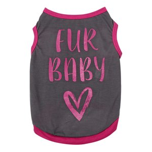 Cat T-shirt Soft Puppy Dogs Clothes Cute Pet Dog Clothes Cartoon Pet Clothing Summer Shirt Casual Vests For Small Pets XS-L
