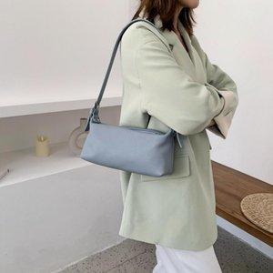 2020 WomenHandbag doux Sac à bandoulière en cuir Sac à rabat haute main Qualité Pochette de soirée bourse Ins Chic Underaram Paquet