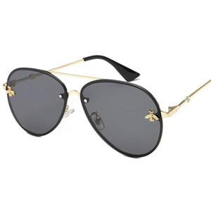 2019 Nuevo diseñador de la marca de alta calidad de lujo para mujer gafas de sol de las mujeres gafas de sol gafas de sol redondas gafas de sol mujer lunette