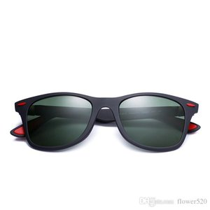 Nuevo Fasion Fe 4195 Conjuntos de gafas de sol Remaches cuadrados Estilo de viajero Gradiente Gafas de sol 52 mm Gafas de diseñador de marca vintage con estuche