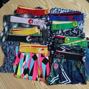 Colore casuale Ethika Mens biancheria intima del pugile a caso stili sport hip hop roccia accise biancheria intima skate street fashion designer di rapida asciugatura
