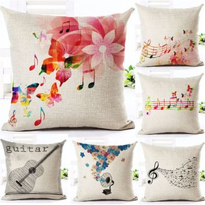 New Muti Colors Valentine Cotton Pillow Cover Home Decor Throw Pillow Case 45*45cm
