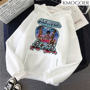 Playboi Carti тур Летний стиль Gothic Vintage Графический пуловер Женщины Swearshirt Эстетические Tumblr Ulzzang Мужчины Одежда
