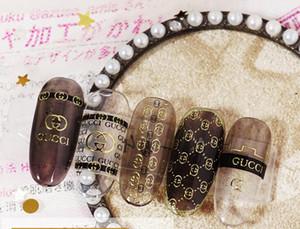 Продвинутые аксессуары для ногтей DIY Nail Applique 3D клейкая экологическая наклейка золото серебро украшение инструмент наклейка США ЕС бренд стиль
