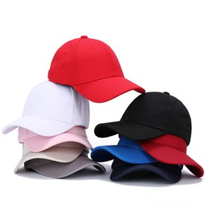 Men Women Blank Baseball Cap Solid Dad Hat Outdoor Casual Hip hop hat Adjustable Snapback Hat For Men Women Wholesale Cap