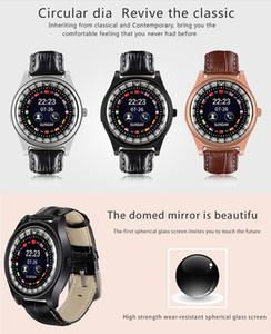 Reloj elegante del regalo del hombre de teléfono para los teléfonos Android iWatch R68 Mini GSM SmartWatch Bluetooth con la tarjeta SIM Los mensajes empuje para relojes de lujo