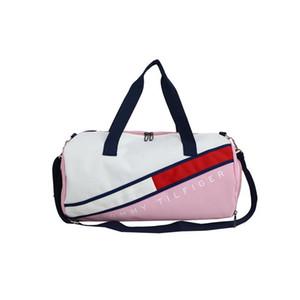 Fitness Yoga Sporttasche Zylinder Kurzstreckenhandtasche Trocken-Nass-Isolation Trainings Rucksack Outdoor-Taschen für Männer und Frauen neue heiße