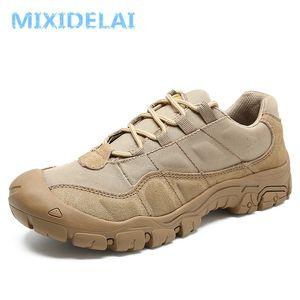 MIXIDELAI Kuh Veloursleder Außen Male Turnschuhe Schuhe für Männer Erwachsener Griffige Gelegenheitsmilitärarmee Herbst Patchwork Schuhe S200409