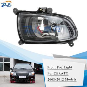 ZUK Sis Lambası Sis Işık Ön Tampon Lambası İçin KIA CERATO Sedan Spectra 2007 2008 2009 2010 Ön Foglight FogLamp Reflektör Işık