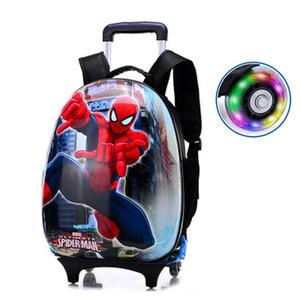 مصمم للأطفال حقيبة سفر عربة الأطفال الحقيبة ذات العجلات للأطفال المتداول الأمتعة الطفل سفر الأمتعة حقائب حالة