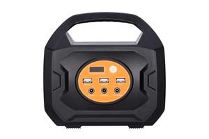 휴대용 발전소 200W 출력 충전식 태양 광 발전기 220V 110V AC 콘센트에 USB QC3.0 전원 은행 팩 공급