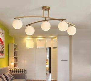 밋도 센츄리 황동 스푸트니크 샹들리에 현대 샹들리에 서스펜션 램프 천장 조명 LLFA 무료 배송