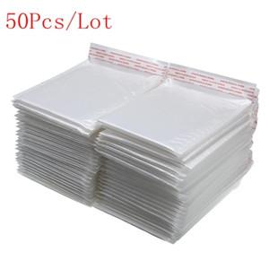 50 pezzi di diverse specifiche sacchetto bianco Schiuma busta Schiuma Foil Ufficio confezione sacchetto di vibrazioni d'umidità busta