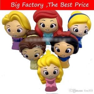 Jumbo plus récent coloré princesse Squishy fille poupée jouets Squishy La hausse squeeze lente Stress Relief squishi pour Kid cadeau