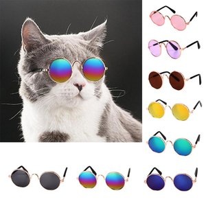 Eye-Wear Little Pet Cat Cat Gafas de gafas Postales Productos para 1pc Lovely Glass Dog Gafas de sol Accesorios Perro Befde