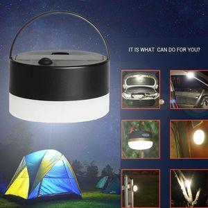 Portátil Camping Lanterna USB LED Caminhadas Night Light Lâmpada Dobrável Lanterna