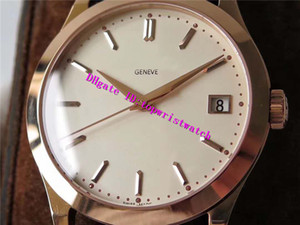 New Calatrava 5296 Rose Gold Mens Watch Cal.324SC Automatic Mechanical Designer Watches 28800 vph Date Sapphire Water Strap