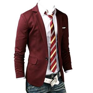 YENİ Artı boyutu Takım Elbise Erkek Blazers Biçimsel Erkek Slim Fit Bir Düğme Suit Blazer İş Blazers Men
