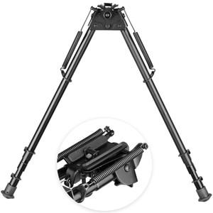 2019 New 27 polegadas bipé Modelo perna extensível montado bipod fixo para âmbito monta caça suporte 20mm