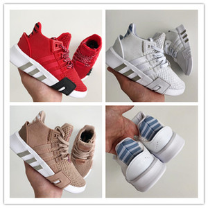 2019 designer EQT Kids youth Running Shoes Support Toddler Athletic Boys Girls Sneakers trainers Olive Sports shoes