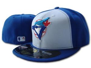 2020 Uomini Blue Jays montato cappello piatto Brim ricamato il marchio della squadra di Toronto gli appassionati di baseball Cappelli mens tappo chiuso da donna completo