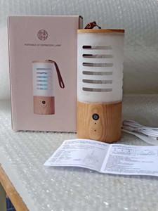 luce della batteria al litio 800MAH 2.5W UVC ozono lampada sterilizzazione DC 5V 1A domestica UV germicida lampada