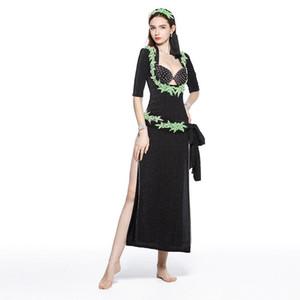 New Bellydance Clothes Baladi Dress 5 Pezzi Sexy Shabbi Belly Dance Robe Costume di danza orientale per le donne