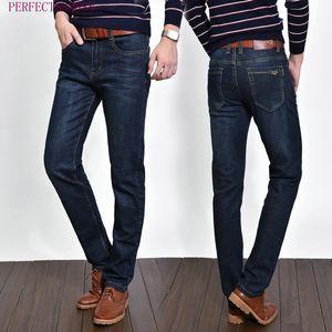 8178 HFU GDFE AJ-JEANS Primavera Outono Calças exteriores grossas calças calças jeans stretch calças de algodão casuais negócios folgas