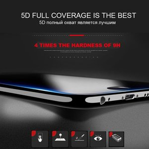 5d Curve Full Cover Ausgeglichenes Glas für Iphone 11 Pro Max Xr X Xs Explosionsgeschützte Kantendisplayschutzfolie