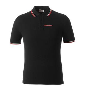 Printemps de luxe Italie Hommes T-shirt Designer Polos High Street broderie petit cheval crocodile impression Vêtements pour hommes Marque Polo w1