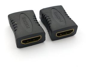 100PCS premium HDMI fêmea para HDMI fêmea adaptador HDMI acoplador FF Adapter