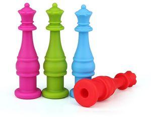 Topos De Silicone Pencil Bainha Pinkycolor Chewable Chewy Molar Dente Gutta Percha Brinquedo Teether Originalidade Favor de Partido 3 2ka E1