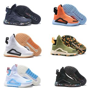 Erkekler için 2019 Donovan Mitchell Ayakkabı Basketbol Ayakkabıları Orijinal Siyah Bulut Beyaz Başbakan Örgü N3xt L3v3l Zach LaVine Ayakkabı Boyutu 40-46