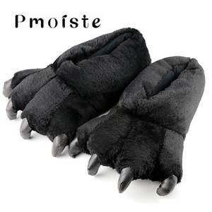 Frauen Hausschuhe Größe 39-46 Damen Hausschuhe Mode Totem Bear Claws Cord Solide Synthetische Lustige Frau Schuhe T8190617