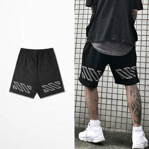 Мода Европа и американский хип-хоп шорты мужчин Скейтборд Hip Hop High Street Dance шорты Мужской Kanye West Харена Justin Bieber Y200511
