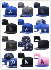 2020 Yeni Moda LA Beyzbol Caps Nakış Hip Hop kemik Erkekler Kadınlar Ayarlanabilir Gorras Unisex Cap toptan için Snapback Şapka