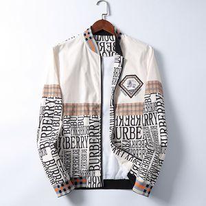 free shipping 2020 autumn winter brand new men medusa windbreaker jackets casual jacket long sleeve jacket