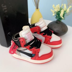 2020 New designer Kids 1s Space Jam Bred Concord Gym Red off Basketball Shoes Children Boy Girls youth Casual sports basketball shoes