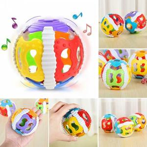 WANGSAURA детские игрушки выдалбливают музыкальный шар игрушки одеяла рука погремушка новорожденного ребенка развивающие игрушки