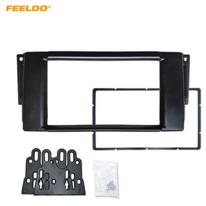 FEELDO 2DIN автомобильный CD / DVD Радио Fascia Plate Panel рамка для Land Rover Range Rover / Freelander / Discovery Panel Dashboard Trim Mount Kit #5260