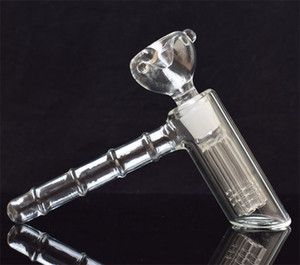 New glass hammer 6 Arm perc glass percolator bubbler water pipe matrix smoking pipes tobacco pipe bong bongs showerhead perc two functions