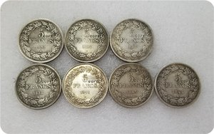 COPY REPLICA 1832-1844 Belgique 5 Francs Coins COPY