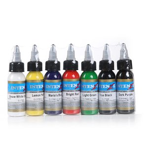 Permanent Tattoo Tattoo Color 30ml 7 Color Set Paint Ink
