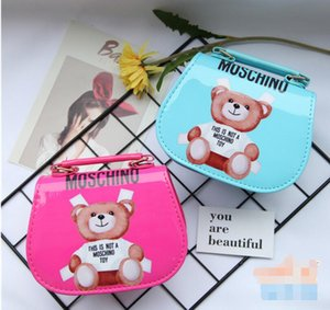 Kids Bags Newest Cartoon Pattern Handbag Baby Girls Crossbody Mini Bag Designer Children Shoulder Bags Girls