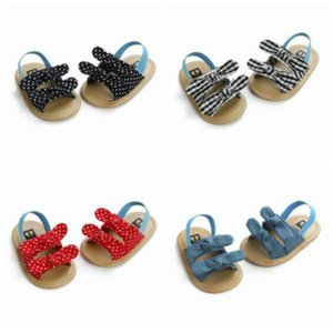 Baby First Walker Summer Fashion Sandals Girls Boys Unisex Toddler Shoes Kids Casual Stripe Wave Point Print Sandals Child Shoes 2020