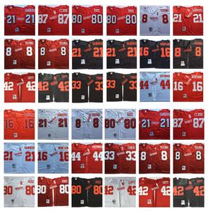 레트로 뉴저지 16 조 몬태나 (80) 제리 라이스 (8) 스티브 영 (21) 데연 샌더스 (33) 로저 크레이그 (42) 로니 로트 (44) 톰 라스 먼 87 클라크 MN 축구