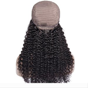 Brazilian Water Wave Wig 13*4 Lace Front Human Hair Wigs Pre Plucked Natural Hairline 150% High Radio Remy Hair Wigs