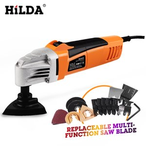 HILDA Renovator Multi Tools Electric Multifunction Oscillating Tool Kit Multi-Tool Power Tool Trimmer Electric Sierra Accesorios