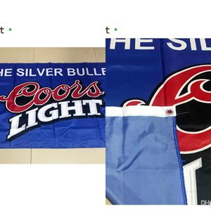 Coors Light Beer Flag 3*5ft (90 см*150 см) полиэстер флаг баннер украшения Летающий дом сад флаг праздничные подарки